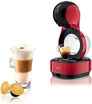 Krups 克鲁伯 Nescafé Dolce Gusto Lumio 胶囊咖啡机 KP1305 1L,红色