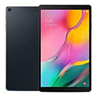 Samsung Galaxy Tab A 10.1 英寸(2019,WiFi + Cellular)全高清角显示屏,32GB 4G LTE 平板电脑和手机 GSM 解锁 SM-T515,国际型号SM-T515
