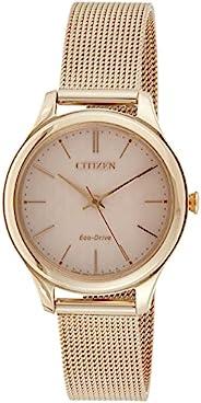 Citizen 西铁城 女士光动能手表 不锈钢表带 EM0503-83X