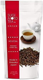 SA 日本綠茶 Hoji Cha,散裝葉,2.0盎司(580g)(4包),白色