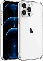 Shamo 兼容 iPhone 13 Pro Max 手机壳,透明手机壳防震 TPU 硅胶缓冲垫防刮手机壳,透明高清透明 [ 防黄变 ]