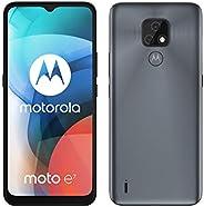 Motorola 摩托罗拉 Moto E7 32GB 手机,灰色,矿物灰,Android 10