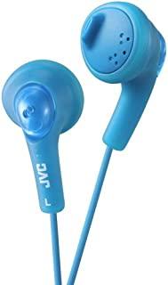 JVC Gumy HA-F160-A-E 入耳式耳机 带低音增强和 3.5 毫米电线(1.2 米)- 蓝色