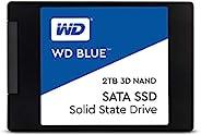 Western Digital WD Blue 2.5英寸固态硬盘 4TB(内置硬盘,高可靠性,SATA 6GB/s接口,128MB高速缓存,防震,WD F.I.T. 经过实验室认证的多计算机兼容性)