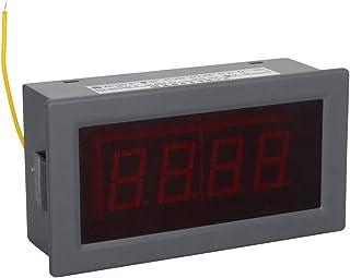 Heyiarbeit 交流电压表 YB5135B 数字黑色文字 LED 数字伏电压表 4 根电线连接用于交流电压测量 1 件