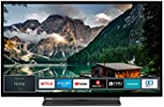 Toshiba 东芝电视(全高清,智能电视,三调谐器,Prime 视频,蓝牙,适用于 Alexa) 32 Zoll 822547