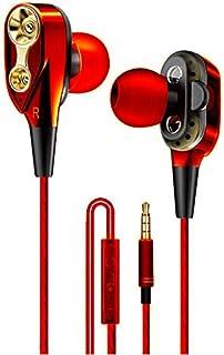 双环跑步游戏,带耳朵、音乐耳机、线控、HiFi 耳机(银色)