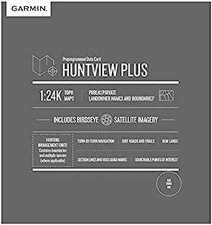 Garmin Huntview Plus,预装微型 SD 卡,带用于 Garmin 手持式 GPS 设备的狩猎管理单元010-12643-02 俄克拉荷马州