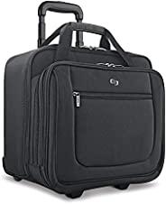 Solo 經典17.3英寸帶滑輪筆記本電腦箱包 黑色 PT136 (美國進口直采)