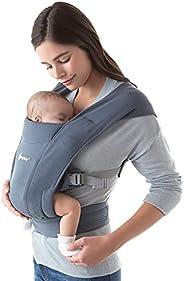 Ergobaby Embrace舒适型新生婴儿背带(7-25磅/约3.18-11.34公斤),牛津蓝