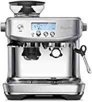 Breville 铂富 BES878BSS1BUS1 BES878BSS Barista Pro 意式浓缩咖啡机,拉丝不锈钢,18/8