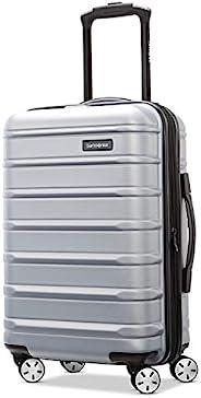 Samsonite 新秀丽 Omni 2 硬壳可扩展行李箱 带万向轮 Artic Silver Carry-On 20-Inch