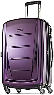Samsonite 新秀丽 Winfield 2 Hardside Luggage with Spinner Wheels, Purple, Carry-On 20-Inch