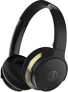 Audio-Technica ath-ar3btbk sonicfuel 双无线头戴式耳机带麦克风和控制,黑色