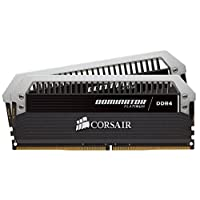 Corsair 海盜船Dominator Platinum系列 16GB DRAM 3000MHz C15內存條,適用于Systems 2400 MT/s CMD16GX4M2B3000C15系統