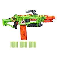 Revoltinator Nerf Zombie Strike 玩具玩具玩具枪,配*动发光声和 18 颗官方飞镖,适用于儿童、青少年和成人 棕色/A