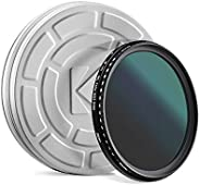KODAK Fader 中性*过滤器 | 平滑旋转可变范围 ND2-2000 过滤器,防止过度曝光,浅景深,捕捉运动模糊,超薄,Nano 18 层多层镀膜玻璃 - 67 毫米