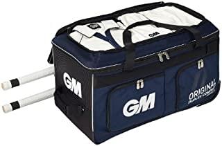 Gunn & Moore 原装 Duplex GM 正方形双排扣紧凑板球包,*蓝