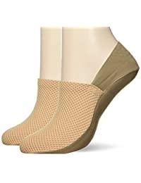GUNZE 郡是 Tuche 袜套 运动鞋用 超深穿着 同色 2 双装 女士