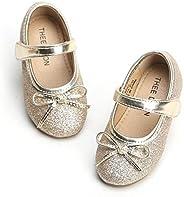 THEE BRON 女童幼儿/小童芭蕾 Mary Jane 平底鞋
