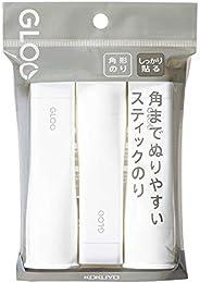 KOKUYO 国誉 胶棒 GLOO 牢固贴 M尺寸 3个 Ta-G302-3P