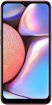 Samsung 三星 Galaxy A10s(32GB,2GB RAM)A107F/DS 双卡,GSM 工厂解锁,国际型号 - (红色,32GB + 64GB SD 包)