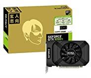 玄人志向 NVIDIA GeForce GTX1050Ti 搭载 显卡 GDDR5 4GB GF-GTX1050Ti-E4GB/SF/P2