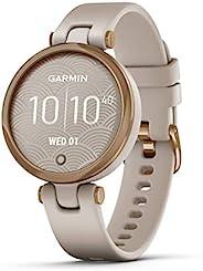 """Garmin 佳明 Lily """"Sport"""" 时尚女士智能手表 带高品质铝制表圈,健身数据,2.54 厘米触摸屏,智能手机通知"""