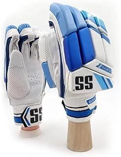 Skyhi SS 板球击球手套,男式,青年,男孩,右手和左手击球手套(颜色可能有所不同)
