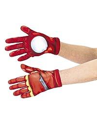 Rubie's 儿童漫威复仇者联盟钢铁侠手套