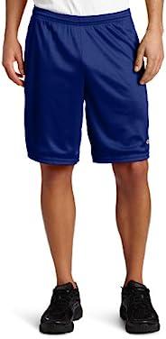 Champion 男士长网状短裤,带口袋