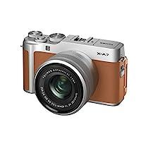 Fujifilm富士胶片 无反光镜单反相机 X-A7镜头套装