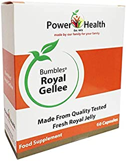 Power Health 500mg Bumbles Royal Gellee Economy - Pack of 60 Capsules