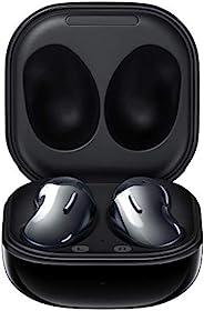 三星 Galaxy Buds Live 无线蓝牙耳机带降噪功能(ANC),舒适贴合,耐用电池,黑色无线耳机