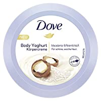 Dove 多芬 Body Yoghurt 酸奶體乳 帶有夏威夷果和米漿香氣,250ml