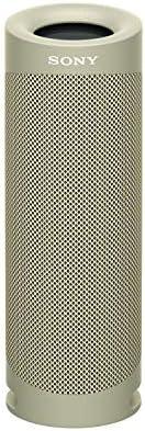 SONY 索尼 SRS-XB23 EXTRA BASS 便携式无线蓝牙扬声器,IP67,防水,内置麦克风,用于通话,灰褐色(SRSXB23 / C)