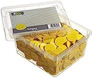 En-Joy 压花塑料代币 - 500 枚硬币 - 29 毫米 - 黄星