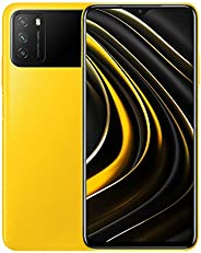 Poco M3 无锁手机 | OS Android 10,Qualcomm SM6115 Snapdragon | 662电池锂电池 6000 mAh | 双卡| GSM - 国际版 | (黄色,64)