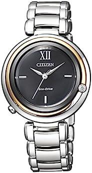 [西铁城]腕表 CITIZEN L 环保・驱动 Arirk系列 Kanon-inspired Design EM0658-95E 女士 银色