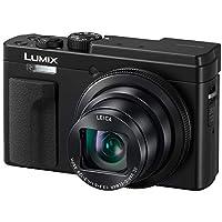 PANASONIC LUMIX ZS80 20.3MP 数码相机,30x 24-720mm 旅行变焦镜头,4K 视频,光学图像稳定器和 3.0 英寸显示屏 - 带长焦镜头的点和射击摄像机 - DC-ZS80K(黑色)