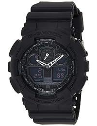 Casio 卡西欧 G-Shock 男式手表 GA-100,黑色,O.S