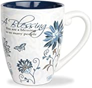 Pavilion Gift Company 66338 Blessing 陶瓷馬克杯,17 盎司,Mark My Words