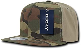 DECKY 纯棉平帽檐棒球帽