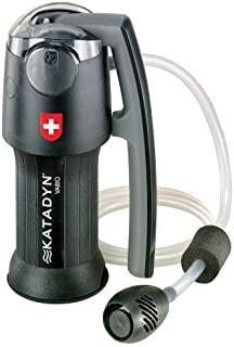 Katadyn 滤水器,持久适用于个人或小型团体露营、背包或应急准备便携式微型过滤器