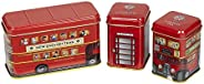 New English Teas British Traditions Long Triple Pack with Buses, 70 g