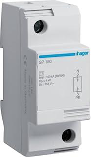 Hager SP150 - 限量过压保护 tipo-i 1 中性
