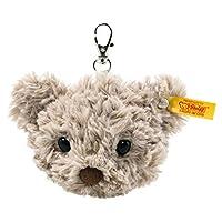Steiff 112553 原装毛绒玩具吊坠 泰迪熊蜂蜜 柔软可爱 毛绒玩具 约 7 厘米,品牌毛绒玩具,耳朵纽扣,亲友,适合出生婴儿,灰色