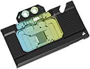 Corsair 海盗船 Hydro X 系列 XG7 RGB 30 系列创始人版 GPU 水块 (3080) - 适合 NVIDIA GeForce RTX (3080)