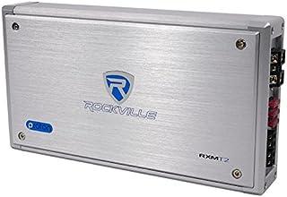 Rockville Apm10b 10 英寸 400W 功率/Active Studio 低音炮 Pro 参考低音炮RXM-T2 2 Channel 2400 Watt 银色