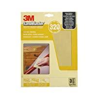 3M Sandblaster 通用砂纸纸 米色 P320 60-320